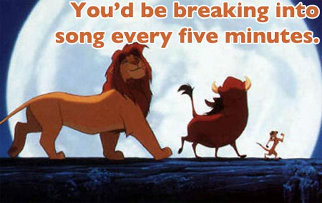 If Only Disney Movies Were Real