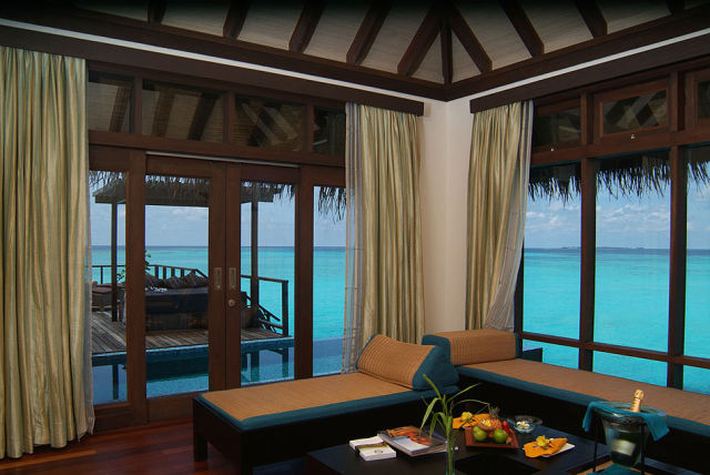 Luxury Hideaway in the Maldives