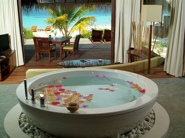 Luxury Hideaway in the Maldives