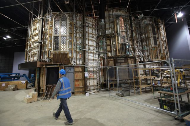 A Peek Inside the Harry Potter Studios Tour