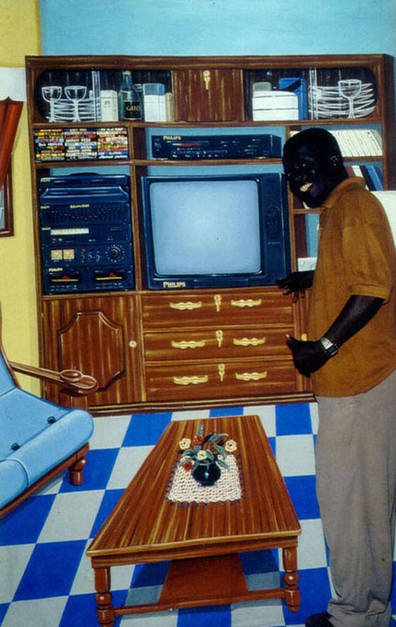 African Artist's Unique 2-D Photographs