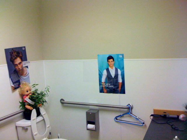 Hilarious Vandalized Twilight Posters
