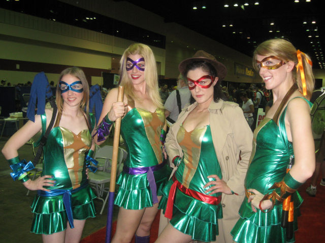Teenage Mutant Ninja Turtle Girls
