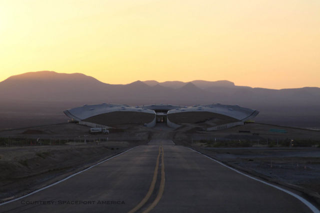Peering Inside Spaceport America