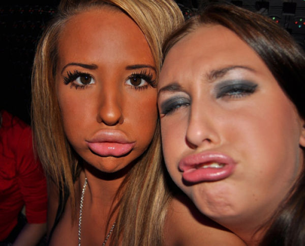 The Ugliness of the Duckfaces. Part 2