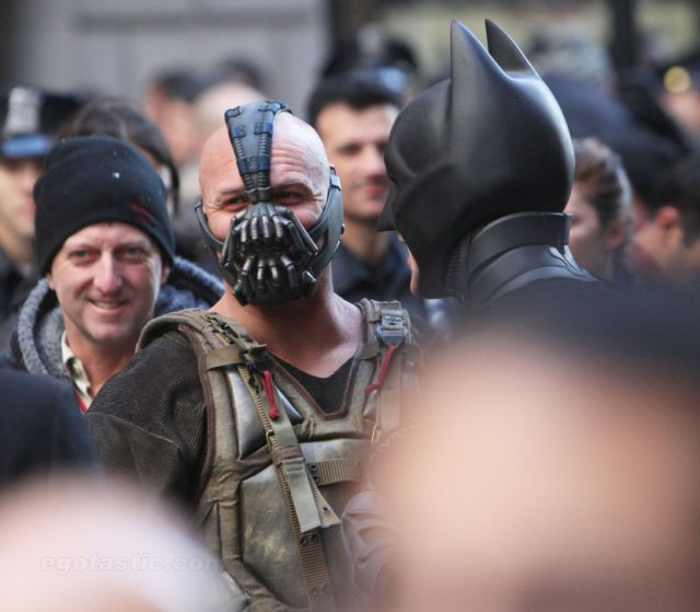 A Glimpse at The Dark Knight Rises Set