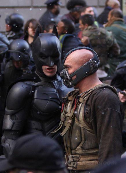 A Glimpse at The Dark Knight Rises Set