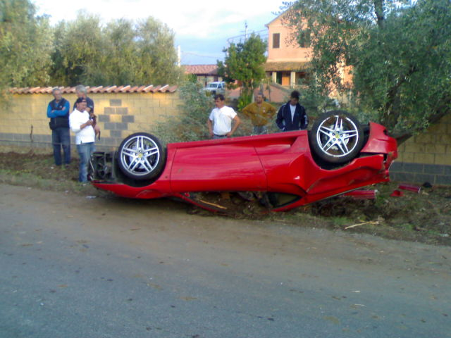 How Not to Treat a Fancy Sports Car