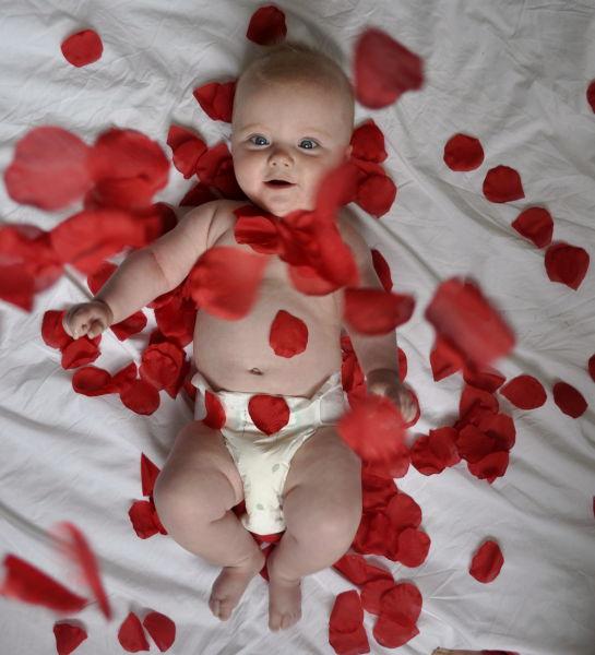 Adorable Baby Recreates Classic Movie Scenes