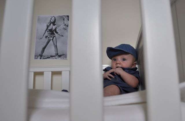Adorable Baby Recreates Classic Movie Scenes