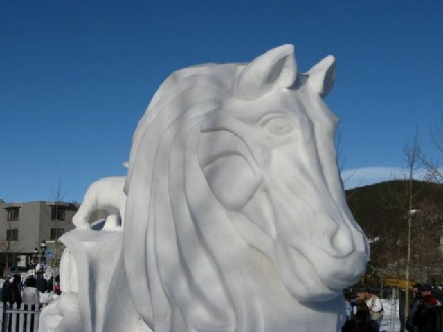 Astonishingly Detailed Snow Sculptures
