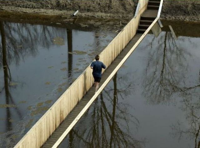Unusual Sunken Bridge