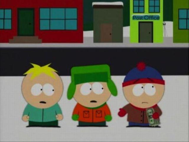 Aliens on South Park