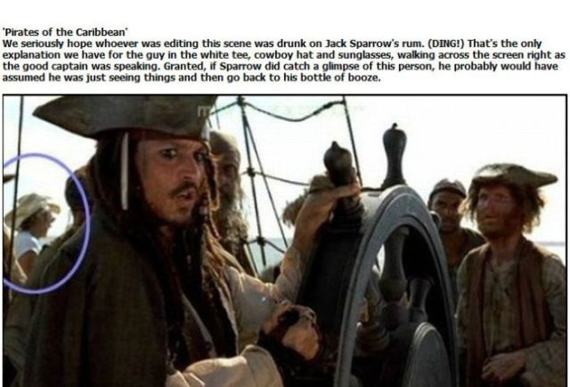 Mistakes in the Highest Grossing Movies
