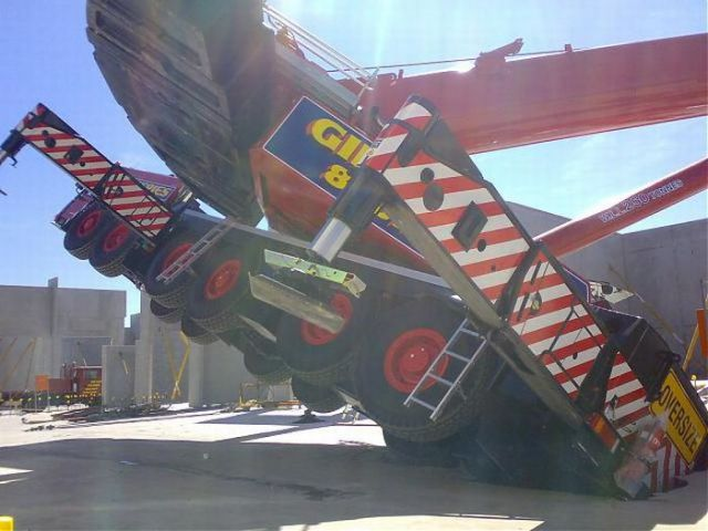 $4 Million Crane Fail in Australia