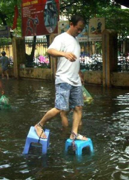 How to Survive the Flood
