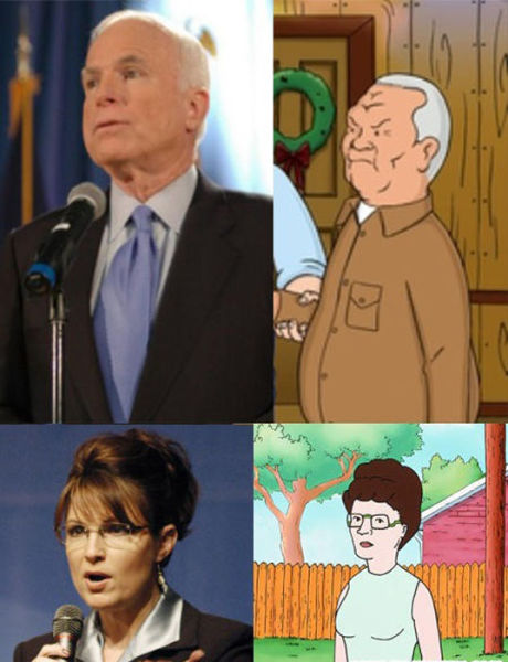 Famous People as Cartoons