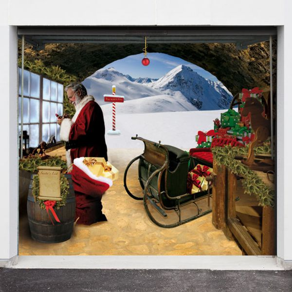 Garage Door 3D Designs for Christmas