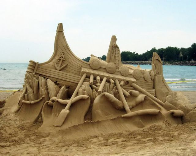 The 100 Most Intricate Sand Sculptures