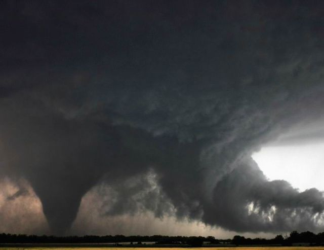 The Visual Beauty of Tornados and Hurricanes