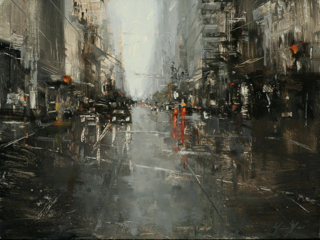 Talented Taiwanese Painter Paints San Francisco