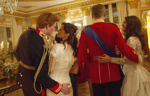 Crazy Behind the Scenes Royal Wedding Pictures. Part 2
