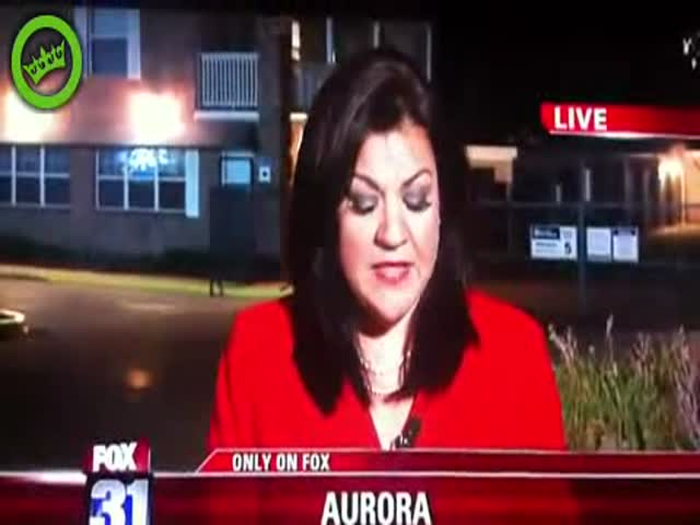 Reporter Didn't See It Coming. Makes Priceless Face