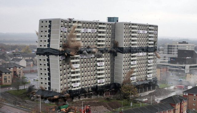 Incredible Building Explosion