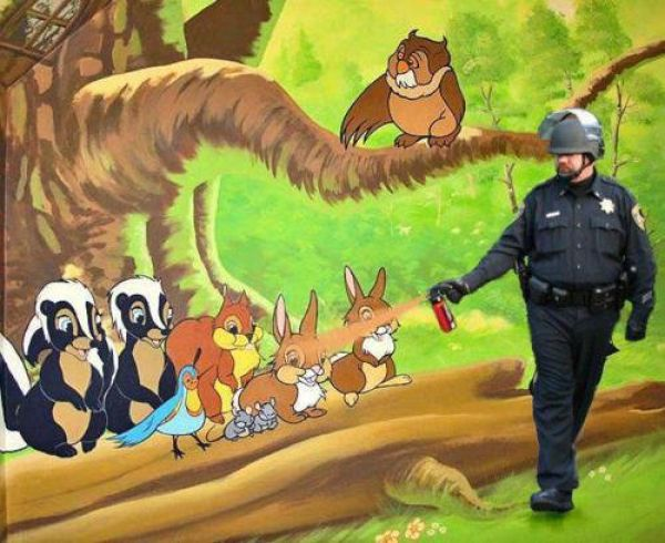 Awesome Pepper Spraying Cop Memes