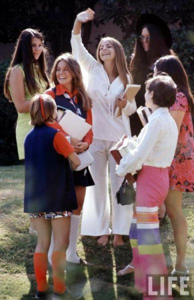 Student Fashion in 1969