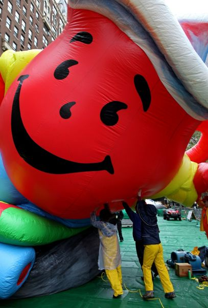 Amazing Photos of Macy's Thanksgiving Day Parade