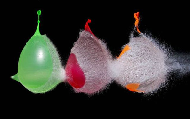 Astonishing Slow Motion Water Balloon Explosion Pics