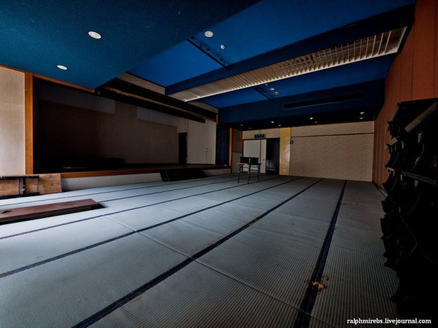 Deserted Japanese Hotel