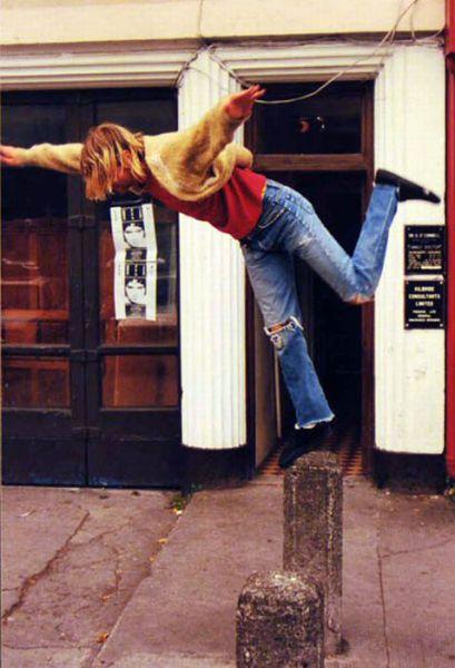 Kurt Cobain's Rare Photographs