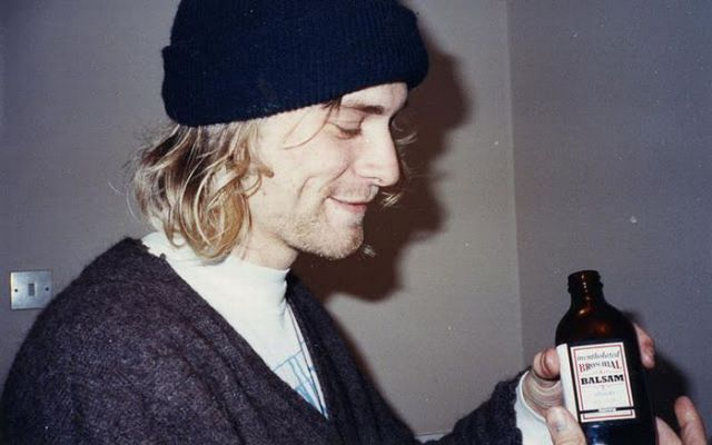 Kurt Cobain's Rare Photographs