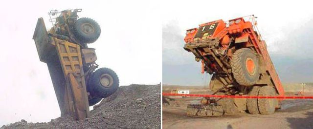 Huge Machinery Gone Wrong