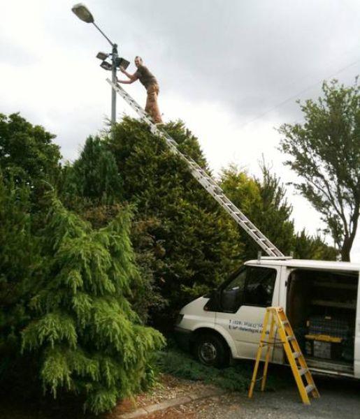 Crazy Height Workers 29 Pics Izismile Com