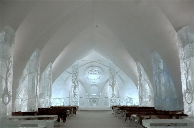 Astonishing Ice Hotel