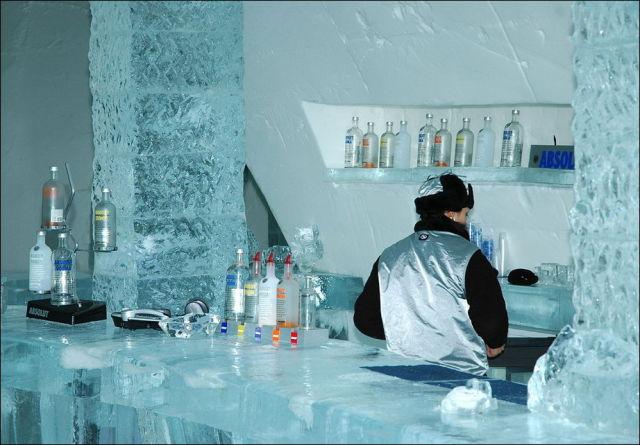 Astonishing Ice Hotel