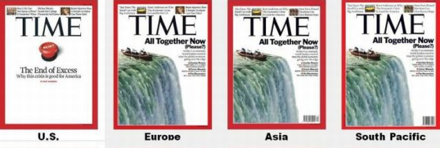 Time Magazine Covers around the World