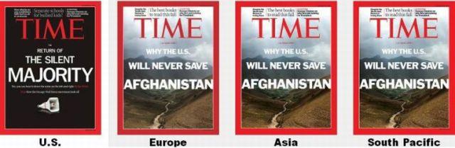 Time Magazine Covers around the World