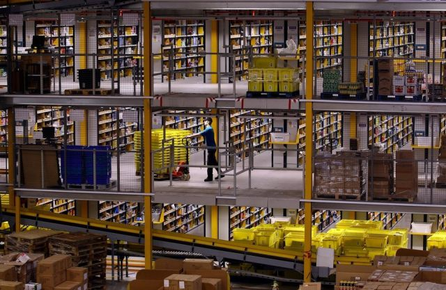 Amazon.com's Gigantic Warehouse