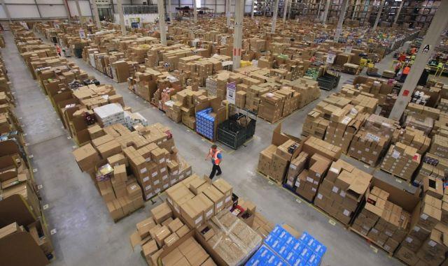 Amazon.com's Gigantic Warehouse