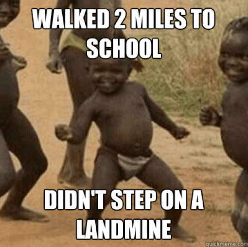The Controversial Third World Success Kid Meme