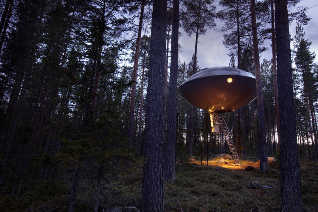 The Most Unusual Treehouse Ever