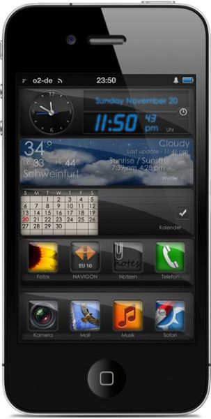 Some of the Coolest iPhone 4 Themes