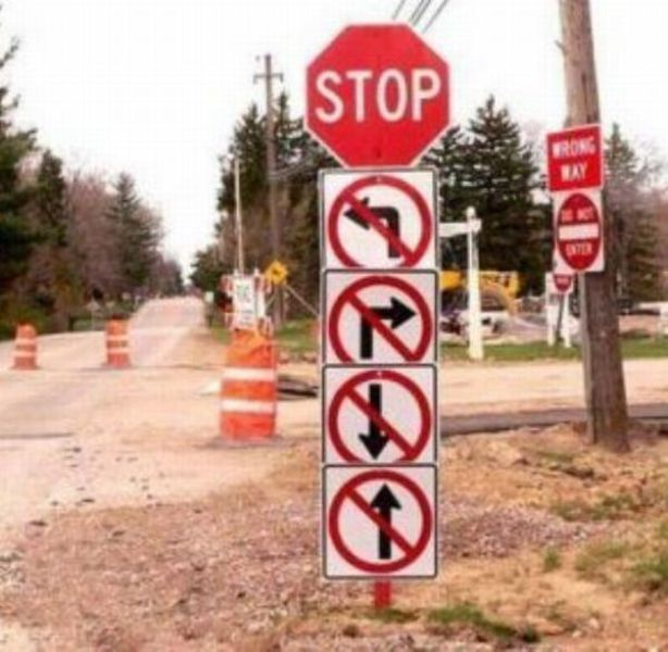 Funny and Fail Signs