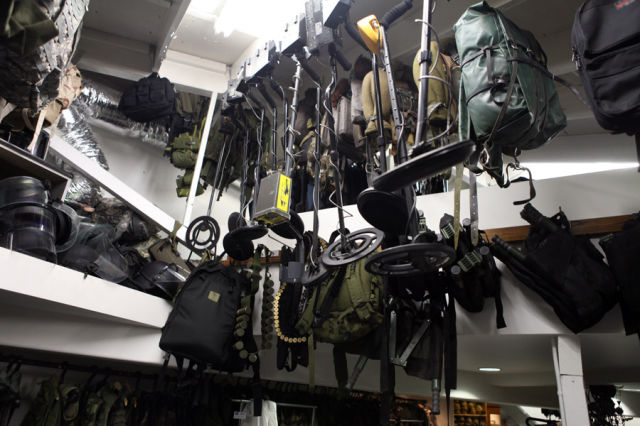 Incredible Hollywood Prop Warehouse
