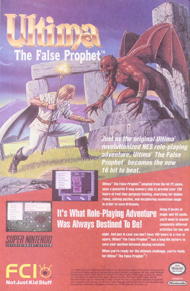 Retro Video Game Ads
