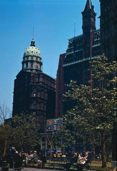1941 New York City Comes Alive in Color